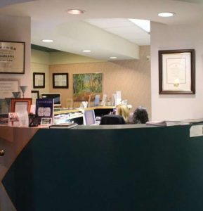 Interior of Advanced Dentistry with a Gentle Touch Office in Red Bank and Middletown, NJ