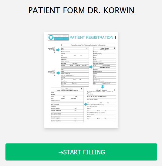 Patient Form Online