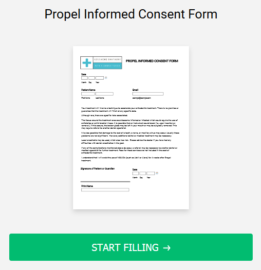 Propel Informed Consent Form