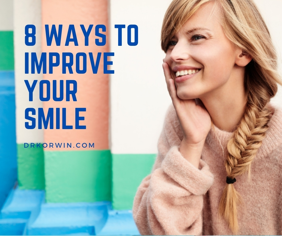 8 Ways to Improve Your Smile