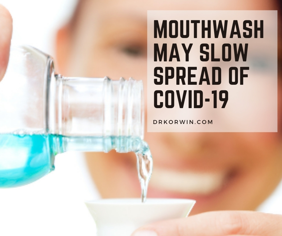 Research has shown that both mouthwash and baby shampoo render 99.9% of coronaviruses inactive in less than two minutes.